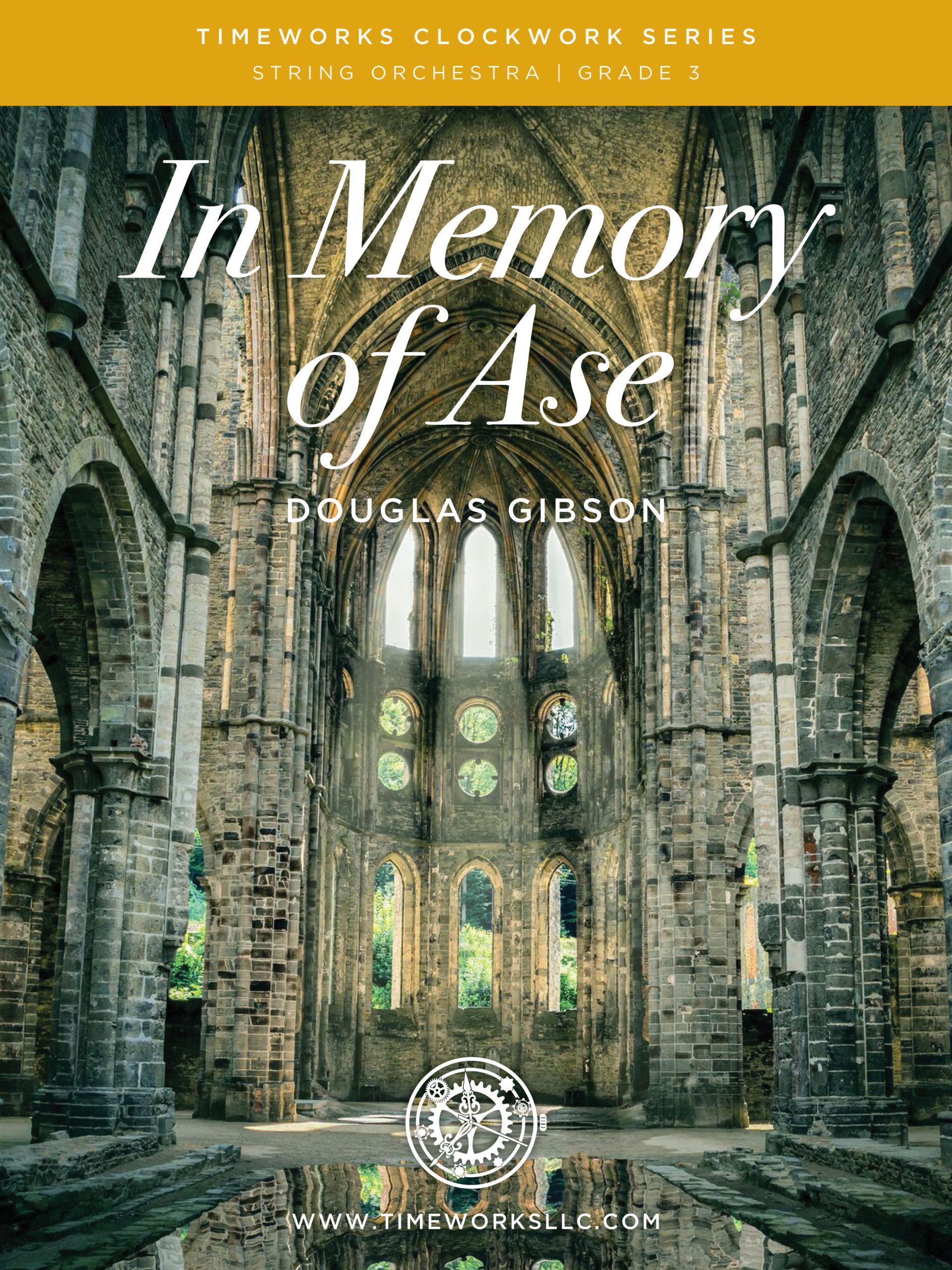 In Memory of Ase Cover